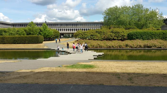 SFU Reflecting Pond photo