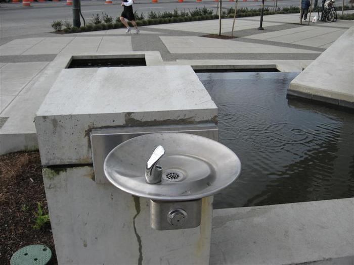 Canadian Tire Water Fountain photo