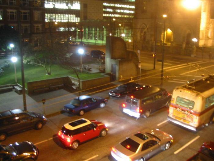 Cathedral Square Traffic photo