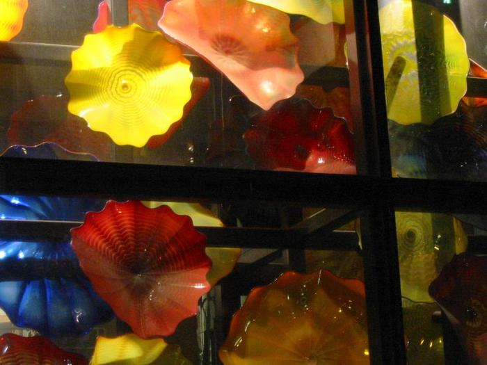 Chihuly Flower Pool photo