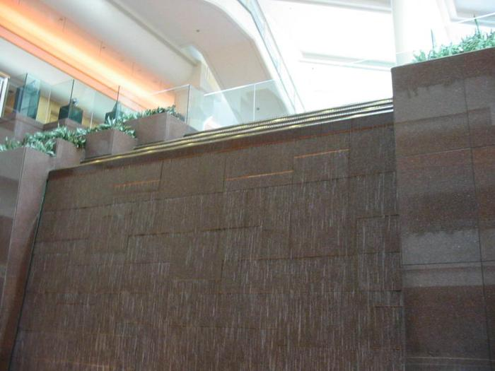 Pan Pacific Water Wall photo