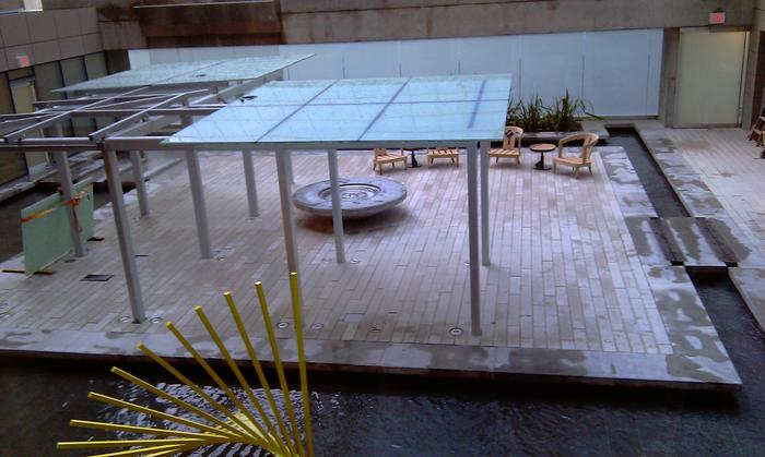 Georgia Hotel Reflections Patio photo
